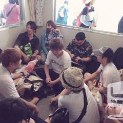 男木島キャンプ