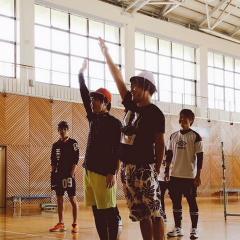 5/21  acro•BeIchic合同スポーツ大会(牟礼総合体育館)
