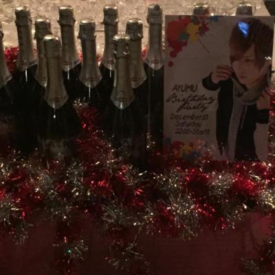 カッコイイ Destiny 本気 イベント シャンパン 聖誕祭 バースデー シャンパンタワー