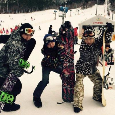 オモシロ カッコイイ ビックリ めでたい 嬉しい♪ やってみた Destiny 本気 Group D 遊びも本気 スノーボード