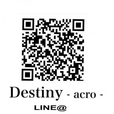 今日の一枚  - acro-  Destiny  Destiny-acro- ポイントカード いいね! 2020
