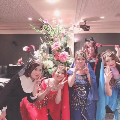 今日の一枚 セクシー カワイイ 嬉しい♪ パーティー 思い出 皆で Halloween コスプレ MEMBER'S EVE 楽しい