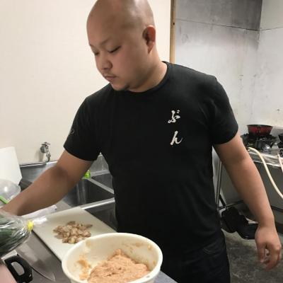 今日の一枚 やってみた cooking BUN  軟骨入りつくね!!