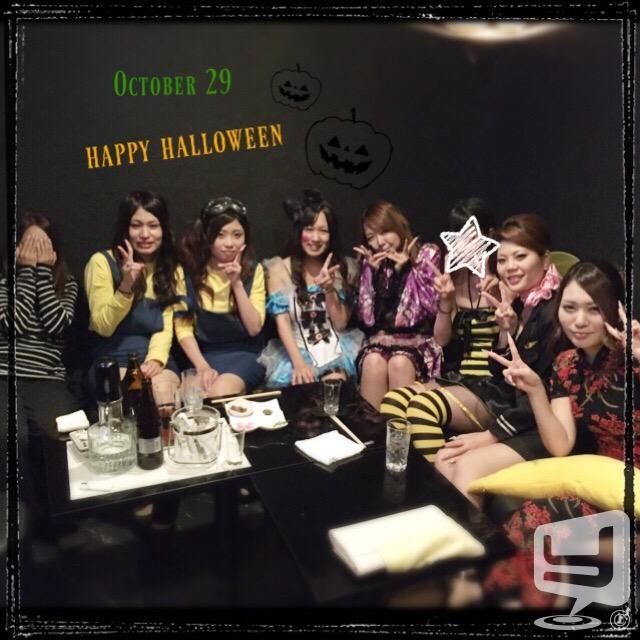 カワイイ パーティー 思い出 皆で Halloween